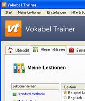 Kostenlose Lernmanagentsoftware Vokabel Trainer