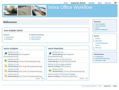 Imixs Workflow-Management-System