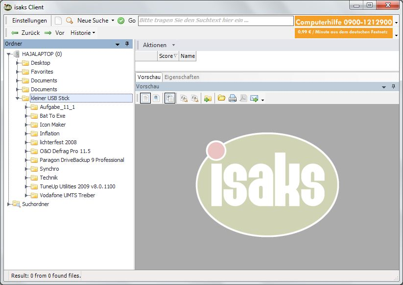 Freeware Dokumentenmanagement ISAKS